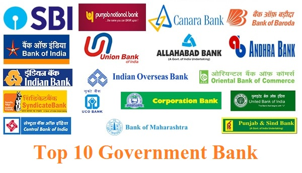 Top Public Bank in India List