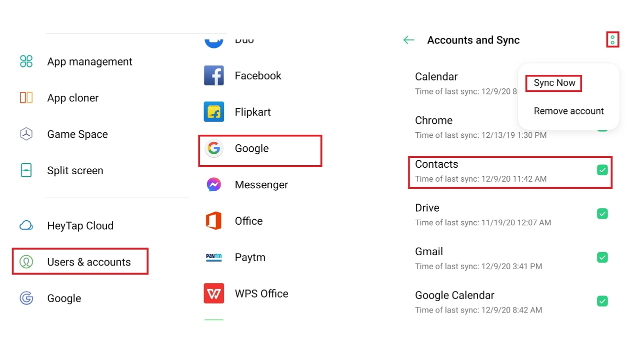 How to Transfer Contacts Number from Android to Android