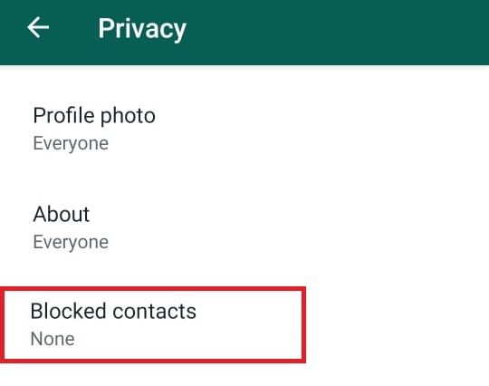 How to block and unblock a contact on WhatsApp